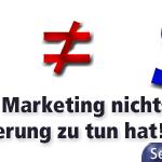 SEO ist nicht SEM! Der Unterschied zwischen Suchmaschinen Optimierung und Suchmaschinen Marketing.